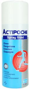 Actipoche spray froid