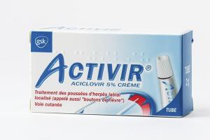 ACTIVIR 5 %  crème