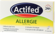 Actifed allergie cetirizine 10 mg, comprimé pelliculé sécable